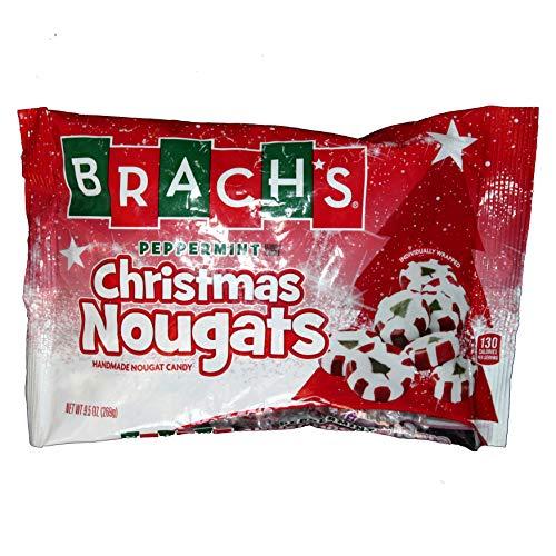 Brach's Peppermint Christmas Nougats 9 oz (Christmas Nougats)