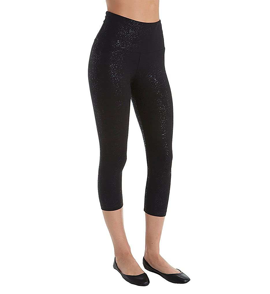 Lyss/é Womens Cotton-Blend Capri Legging