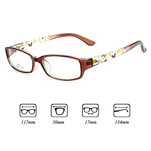 40694d7900 Kids Glasses Frame - Children Eyeglasses Clear Lens Retro Reading Eyewear  for Girls Boys - Juleya  112205  Amazon.co.uk  Clothing
