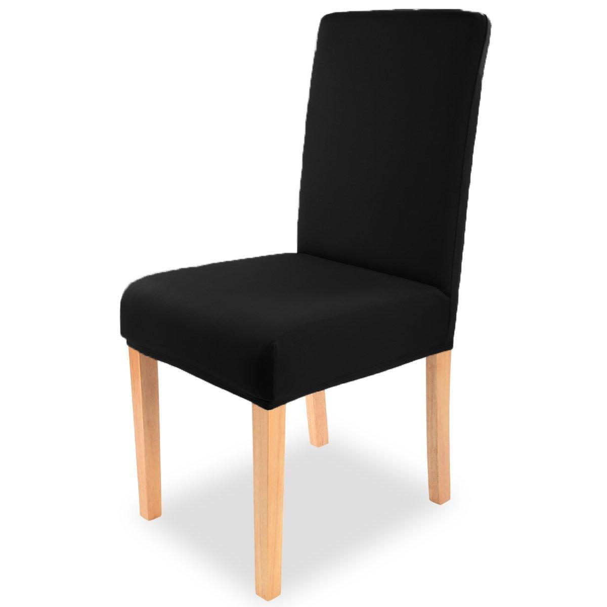 Universal - sedia esprito sedia con rivestimento Stretch nei colori grigio, grigio chiaro, marrone, ceme-bianco, rosso e turchese ca, 40 x 65 cm di Brand SELLER, Cotone, Crema/bianco, 40 x 40 x 65 cm brandsseller
