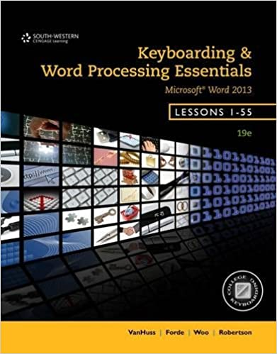 Keyboarding and word processing essentials lessons 1 55 spiral keyboarding and word processing essentials lessons 1 55 spiral bound version susie h vanhuss connie m forde donna l woo vicki robertson fandeluxe Choice Image
