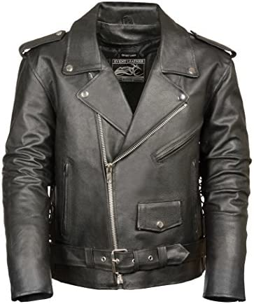 Event Biker Leather Motorcycle Pockets product image