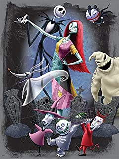 ceaco disneys nightmare before christmas puzzle halloween party puzzle - Christmas Jack Skellington