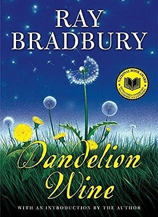 book cover of Dandelion Wine