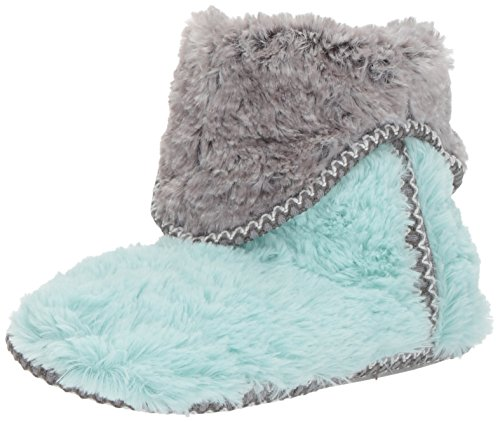 Dearfoams Women's Pile Foldown Boot Wintermint A1L2X