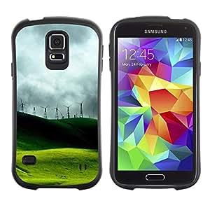 Suave TPU GEL Carcasa Funda Silicona Blando Estuche Caso de protección (para) Samsung Galaxy S5 / CECELL Phone case / / Nature Beautiful Forrest Green 47 /
