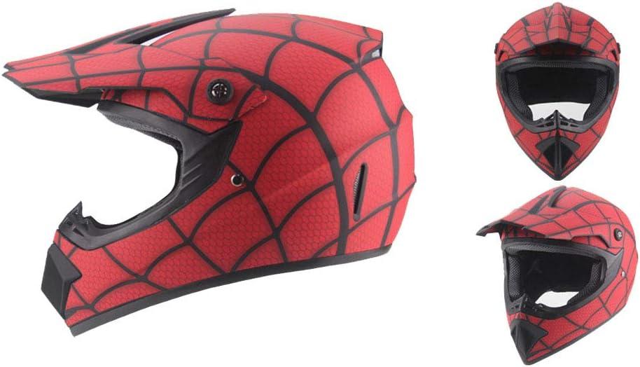 Radiancy Inc Offroad Motorrad AM Mountainbike Vollhelm Reiten Spiderman Helm MX Vollhelm Motorrad