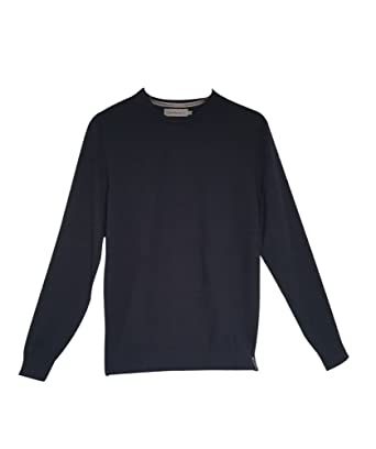 CALVIN KLEIN JEANS - Men s long sleeve pullover stag sweater j30j305908   Amazon.co.uk  Clothing 97b9064938