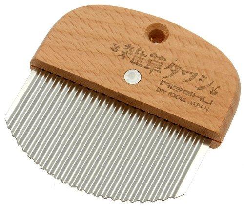 nisaku-crevice-and-sidewalk-weeder-wood-handle-model-990-538-outdoor-garden-store-repair-hardware
