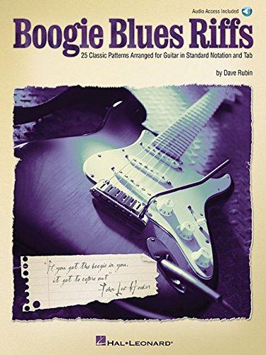 Amazon com: Boogie Blues Riffs: 25 Classic Patterns Arranged