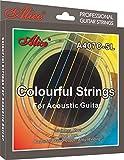 Alice A407-L Acoustic Guitar Strings,6 Strings/Set,Light.012-.053,Anti-Rust Coating