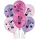 Amscan International 28 cm Minnie Mouse Latex Balloons
