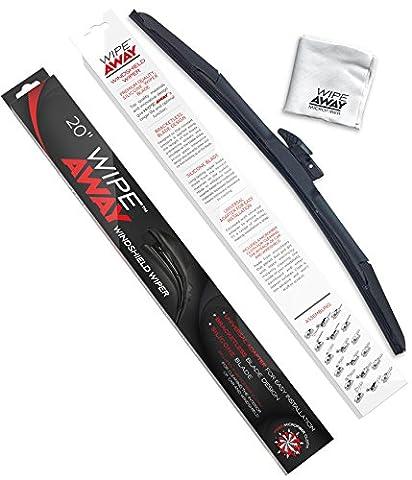 Wipe Away Windshield Wiper Blade - Silicone Windshield Wiper Blade - 20