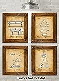 Best Crystal Poker Sets - Original Pool Billiards Patent Art Prints - Set Review