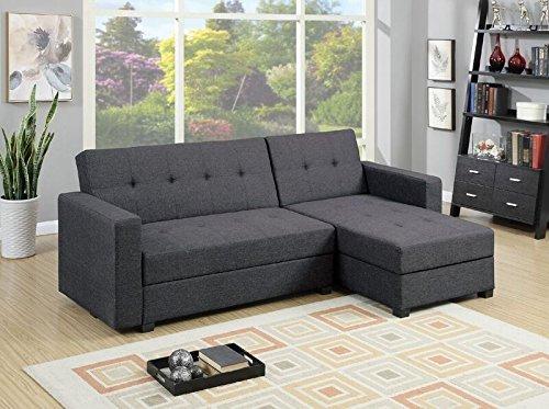 Mercury Row Danos Reversible Sleeper Sectional Sofa Review