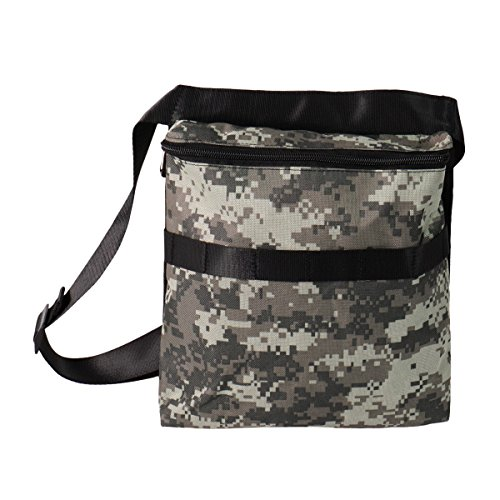 Metal Detector Camo Bag Finds Pouch with 42