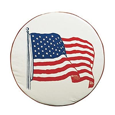 ADCO 1782-B 32.25 Size B Flag Spare Tire Cover by ADCO