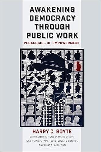 cover image of Awakening Democracy through Public Work: