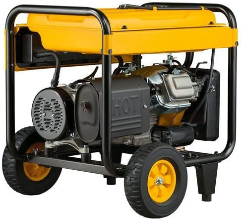 DEWALT PM0167000.02 DXGNR7000 7,000-Watt Portable Generator 50-ST/CARB, Red 51O 2BX38qSGL