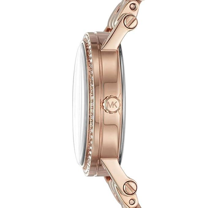 6ddab346f072 Amazon.com  Michael Kors Women s Norie Rose Gold-Tone Watch MK3558  Watches