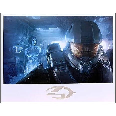Amazon com: Acme Archives Halo 4 Master Chief and Cortana