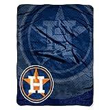 MLB Houston Astros Retro Royal Plush Raschel Throw Blanket, 50x60-Inch by Northwest