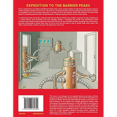 Goodman Games Original Adventures Reincarnated #3: Expedition to The Barrier Peaks: Goodman Games: Toys & Games