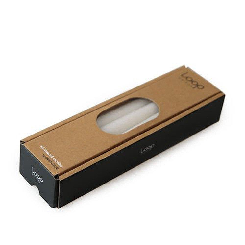 BLACK + BLUM Bougie boîte Cadeau 6pièces, Blanc, 2.40x 2.40x 22.00cm Black+Blum CA002