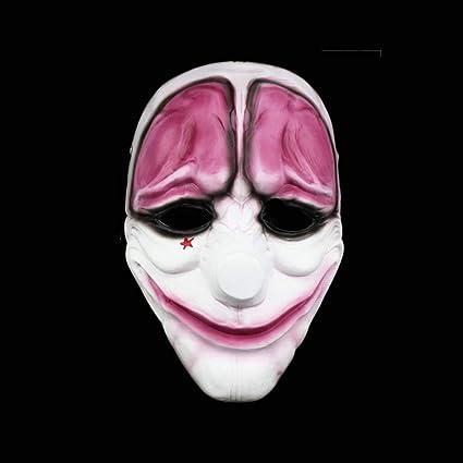 Amazon.com: Carnival Party Joker Masquerade Cosplay Mascaras ...