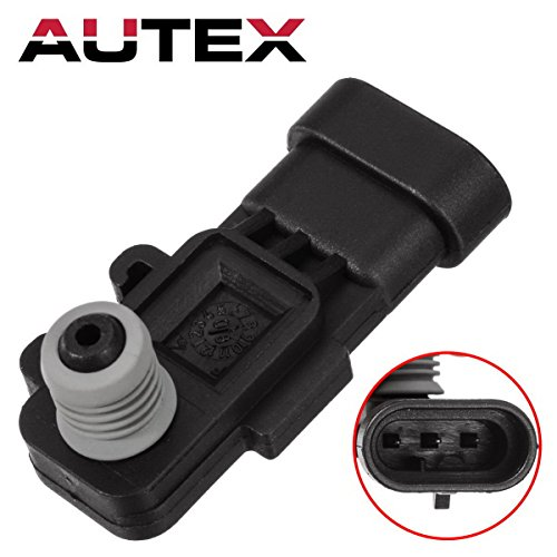 AUTEX 16238399 AS302 Fuel PumpTank Pressure Sensor Vapor Vent (EVAP) Replacement Compatible with Honda Passport/SAAB 9-7X/Hummer H2 & H3/Acura SLX/Saturn Aura/Chevrolet Astro & Aveo5/GMC Canyon Chevrolet Astro Fuel Tank