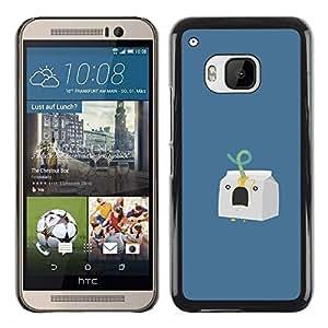 Stuss Case / Funda Carcasa protectora - Milk Carton Murder - Funny - HTC One M9