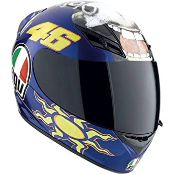 AGV K3 The Donkey Full Face Motorcycle Helmet (Multicolor, Large)