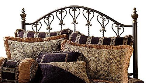 Hillsdale Furniture 1332HK Huntley Headboard, King, Dusty Bronze -