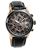 Salvatore Marra Men's Quartz Analog Chronograph Date 10BAR Watch