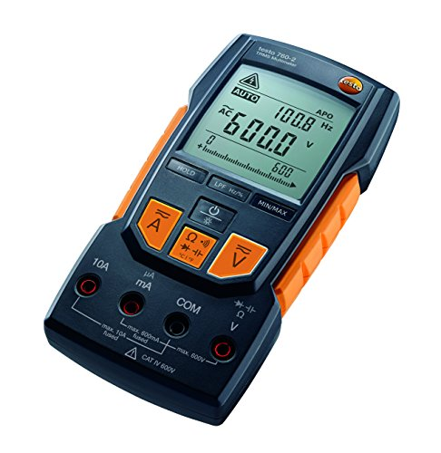 - Testo 760-2 TRMS Digital Multimeter Auto Range Detection