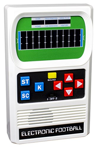 (Basic Fun Classic, Retro Handheld Football Electronic Game)