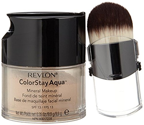Makeup Revlon Mineral (Revlon Colorstay Aqua Medium/Deep Mineral Makeup -- 2 per case.)