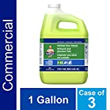 Floor Cleaner from Mr. Clean Professional, Bulk Liquid Concentrate fro Hardwood, tile or Terrazo Floors, Commercial Use, Lemon Scent, 1 Gal. (Case of 3)