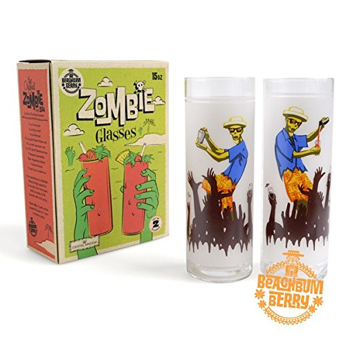 Beachbum Berry Zombie Glasses - 15oz (450ml) / Set of 2 ()