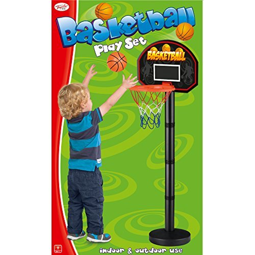 Toyrific 1.2 m Junior Basketball Play Set with Ball and Pump by Toyrific