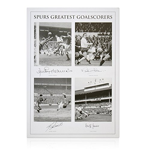 corers Photo - Hand signed by Greaves, Chivers, Jones & Smith by A1 Sporting Memorabilia (Smith Hand Signed)