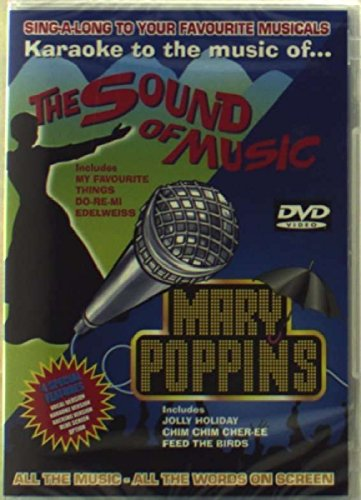 Karaoke To The Music Of The Sound Of Music And Mary Poppins [DVD]