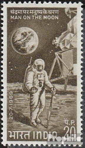 India 487 (complete.issue.) 1969 Moon Landing (Stamps for collectors) Space