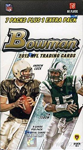 2012 bowman football - 7