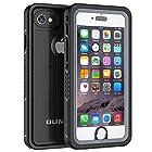 iPhone 6 Plus/6s Plus Waterproof Case, OUNNE Shockproof Dustproof Waterproof With Touch ID