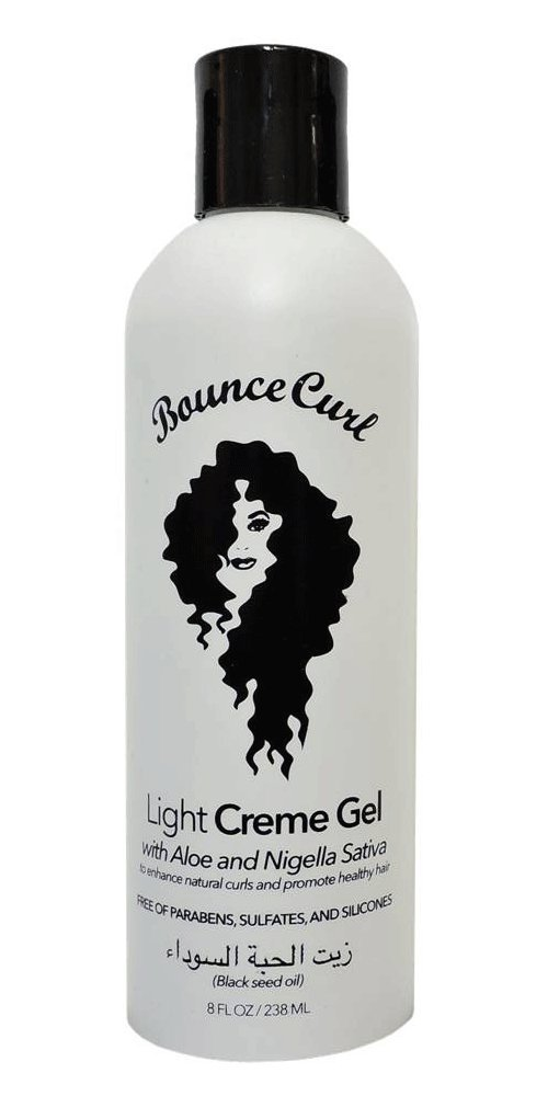 New Bounce Curl Light Creme Gel With Aloe For Curly Hair
