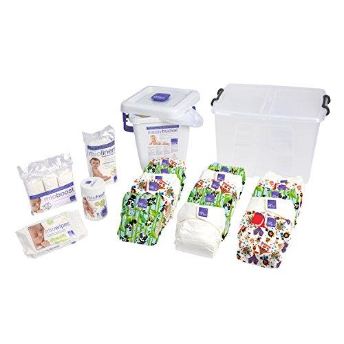 Bambino Mio, Miosolo Cloth Diaper Premium Birth to Potty Pack, Onesize, Unisex by Bambino Mio