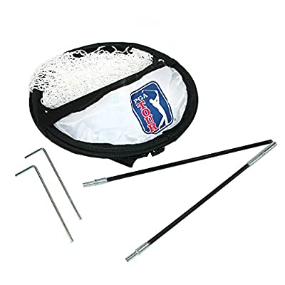 PGA Golf Ball Indoor Chipping Practice Net, White