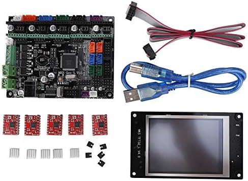 Wendry Impresora 3D Pantalla LCD a Color + Placa del Controlador ...