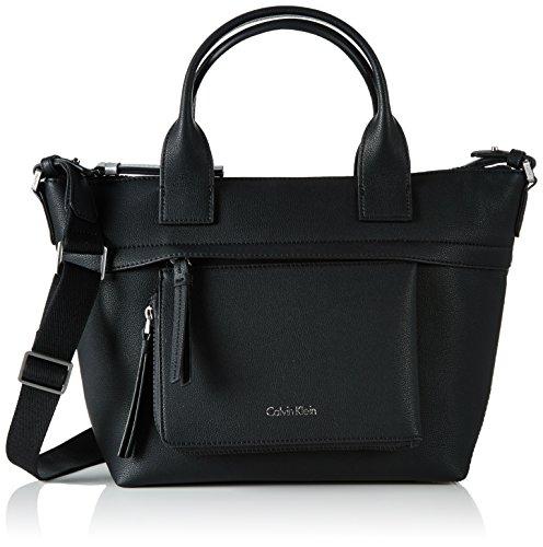 Calvin Klein Ch4rly Medium Tote, Sacchetto Donna, 14x24x25 cm (b x h x t) Nero (Black)